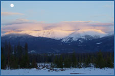 Spectacular views to enjoy a sleigh ride in Winter Park, CO